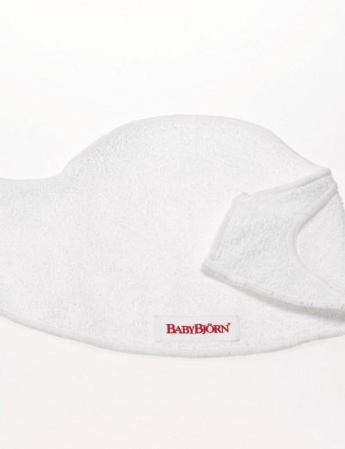 Śliniaczek do nosidełka BABYBJORN - biały