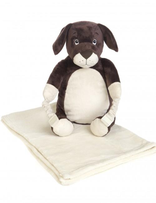 BoBo Buddies - Plecak z kocykiem - Pies Lupo