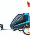 THULE Chariot Coaster podwójna przyczepka rowerowa dla dziecka