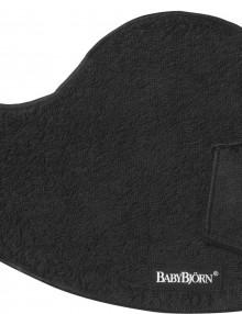 Śliniaczek do nosidełka BABYBJORN - czarny